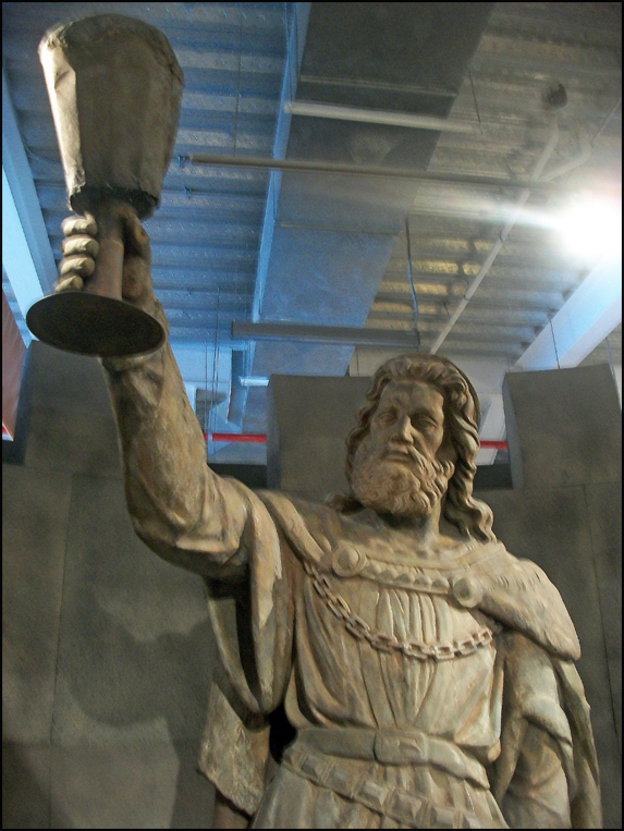 Modelo Museum of Science & Industry's Gambrinus statue (Toluca, Mexico)